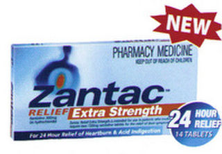 Zantac Relief Extra Strength Tablets 14 [PM]