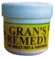 Grans Remedy Foot Powder Unscented 50g