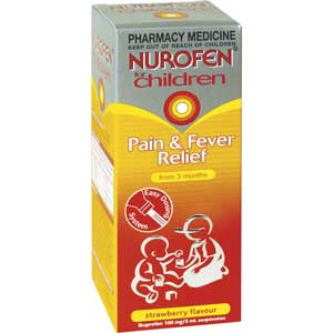 Nurofen for Children Liquid Strawberry 200ml [PM]