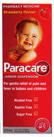 Paracare Childrens Susp Strawb 200ml [PM]