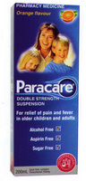 Paracare Double Strength Susp Orange 200ml [PM]