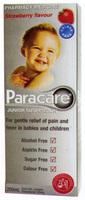 Paracare Childrens Susp Strawb C/Free 200ml [PM]