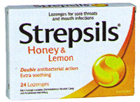 Strepsils Honey Lemon Lozenges 24