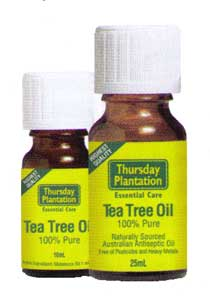 Tea tree oil thursday plantation