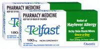 Telfast Tablets 180mg 10 [PM]