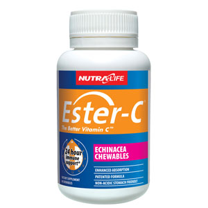 Nutra-Life Ester-C Echinacea Chewables 60 Tablets