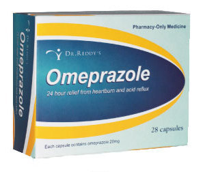 Omeprazole Capsules (Dr Reddy's) 20mg 28 Capsules [PM]