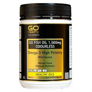 GO Fish Oil 1500mg 210 Capsules