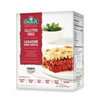 Orgran Rice and Corn Lasagne Mini Sheets 200g