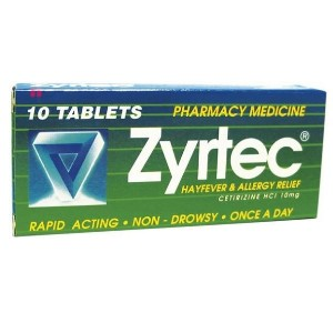 Zyrtec Tablets 10mg 10 [PM]