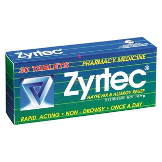 Zyrtec Tablets 10mg 30 [PM]