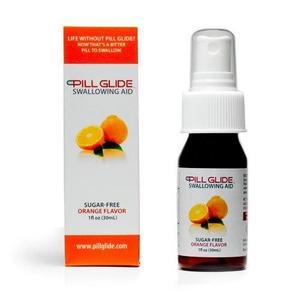 Orange viagra pill